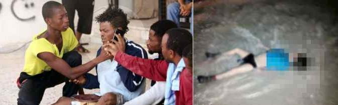 Profughi africani (finti) gettano in mare bambini per alleggerire il 'carico' – FOTO CHOC