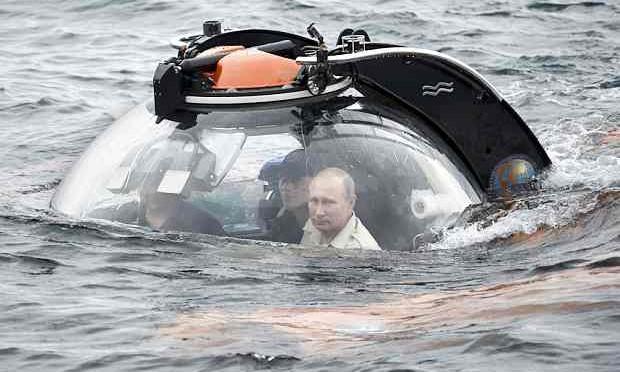 Putin spedisce rompicoglioni russo nell'Artico a fare il militare