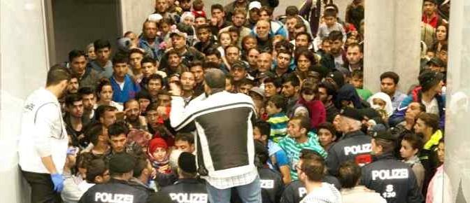 Nickelsdorf: 1.700 abitanti e 10.256 profughi islamici