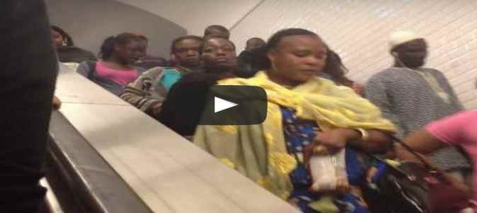 Questa metro è in Francia – VIDEO CHOC