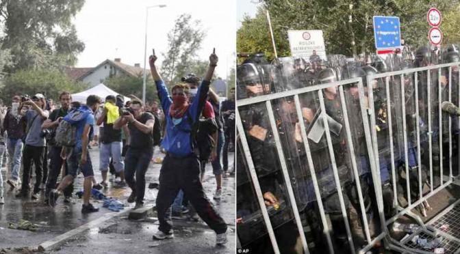 La guerra siriana arriva in Europa: questi vi sembrano profughi? – FOTO