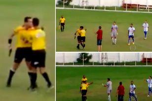 Brasile: arbitro estrae pistola, poi cartellino rosso