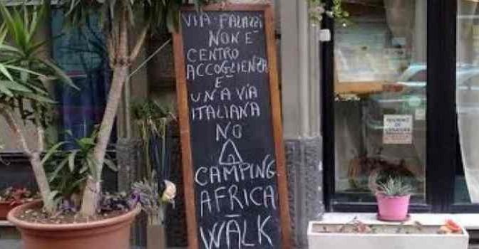 Milano: ristorante assediato da africani si ribella – FOTO
