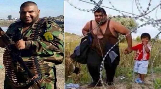 Miliziani islamici usano bimbi per passare confini – FOTO CHOC
