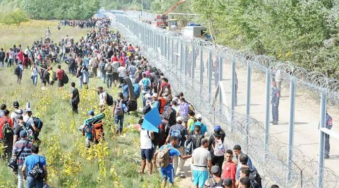 """Ungheria: """"Pronta anche barriera con Croazia"""""""