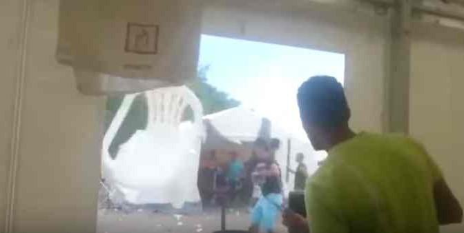Guerra Siria arriva in Europa: scontri tra profughi in tendopoli – VIDEO