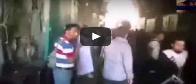 Bimbo su passeggino preso a calci da islamici: al grido, Allah Akbar! – VIDEO