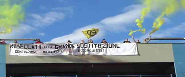 Milano: Azione dimostrativa contro 'sostituzione etnica'