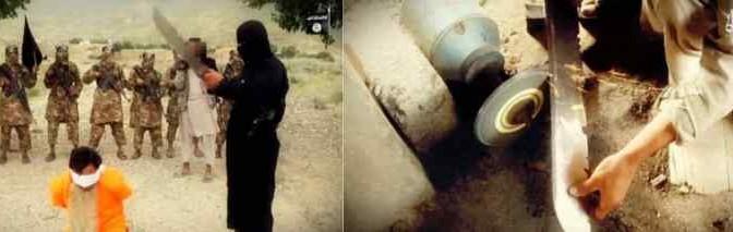 Islamici decapitano soldato: prima il boia si 'prepara' – VIDEO