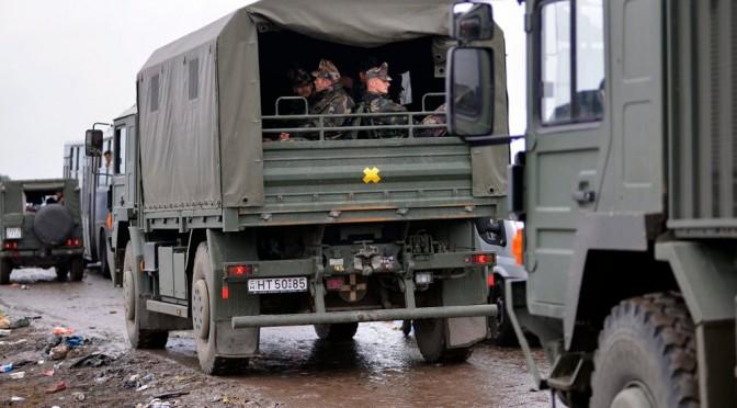 Guerra ai clandestini islamici: Ungheria invia blindati a confine