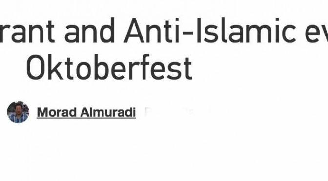 """Profughi islamici: """"Annullate Oktoberfest, ci turba"""""""
