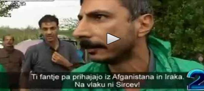 """Profugo a TV: """"Questi non sono siriani e non sono profughi!"""" – VIDEO"""