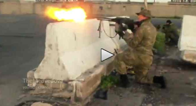 SIRIA: Soldati russi sbarcano e 'si addestrano'  – VIDEO