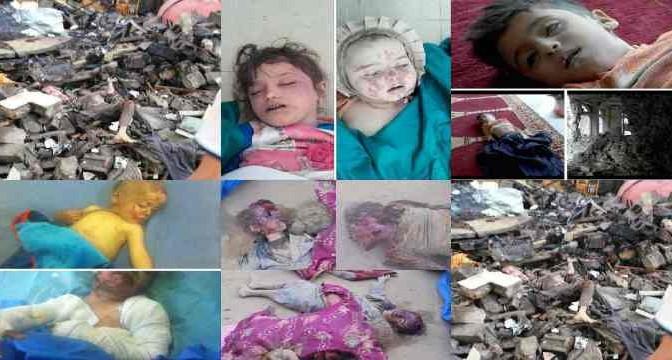 Questi bambini uccisi dalle bombe del PD
