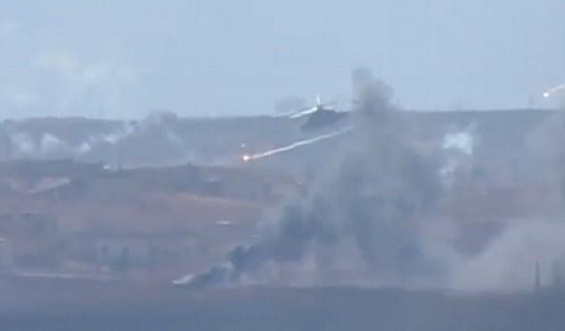 Aerei russi distruggono centro comando ISIS