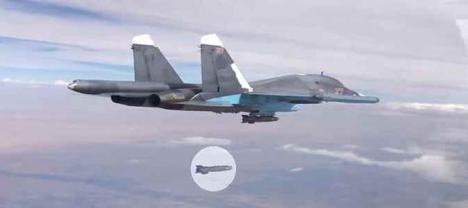 SIRIA: 55 raid russi in 24 ore – VIDEO
