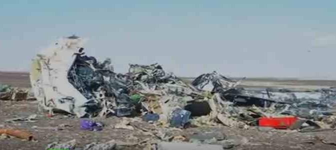 Aereo russo: primi Video e Immagini da luogo disastro