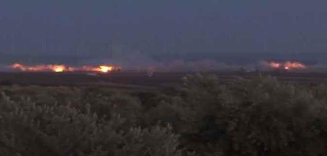 Massiccio bombardamento russo contro islamici – VIDEO