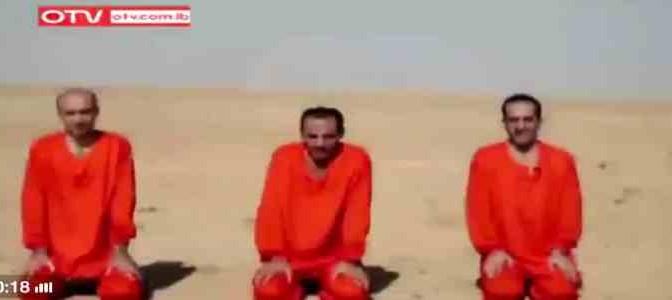 """Isis 'giustizia' 3 cristiani: """"Ne abbiamo altri 202 da uccidere"""""""