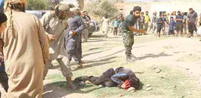 Islamici scatenati: 'infedeli' decapitati e lapidati – FOTO CHOC