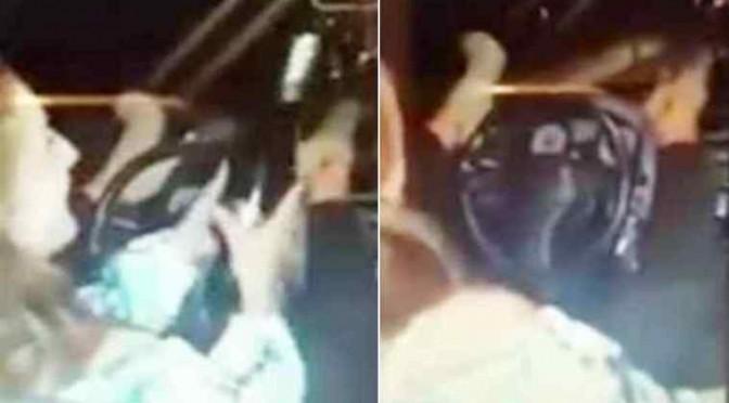 Guidava con i piedi bevendo alcol: ha investito e ucciso anziano – VIDEO