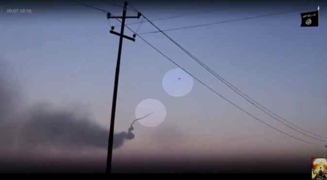 La bufala di ISIS che abbatte elicottero russo – Video