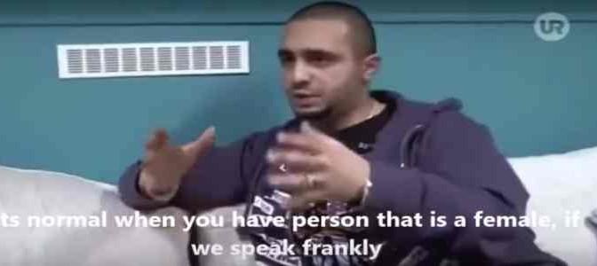 """Profugo islamico spiega a TV: """"Donne sono tutte puttane"""" – VIDEO"""