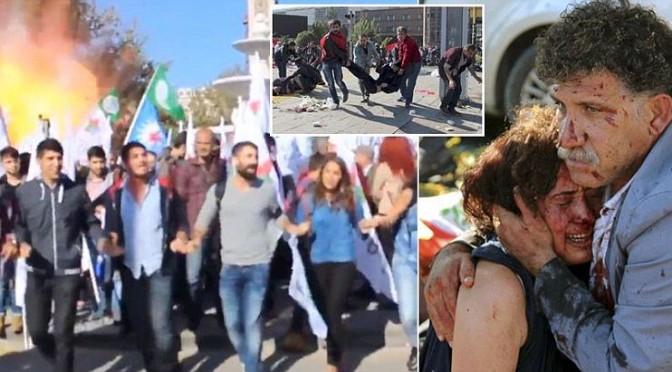 Esplosioni durante manifestazione curda in Turchia – VIDEO CHOC