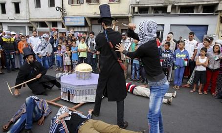 "Marocchini ""decapitano"" ebreo – VIDEO CHOC"
