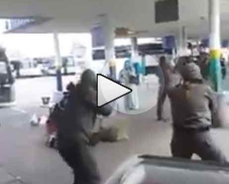 Tenta di sgozzare soldato: islamica abbattuta – VIDEO