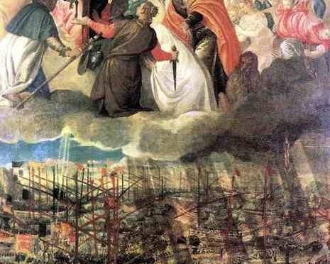 Quanto la Madonna apparve, contro l'invasione islamica