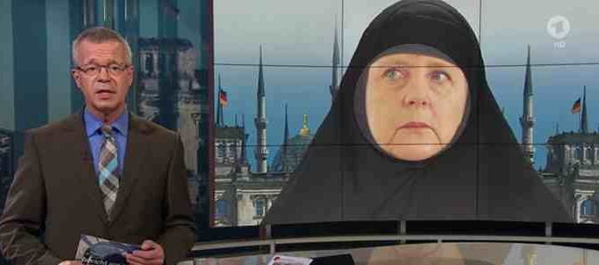 GERMANIA: DONNA IN BURQA ACCOLTELLA AGENTI