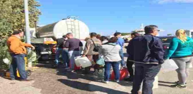 Messina senz'acqua: il sindaco firmava ordinanza urgente per accogliere profughi