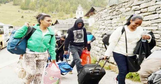 Ticino: 40 abitanti e 20 profughi (finti)