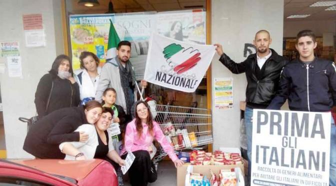 Solidarietà Nazionale:  aiuta gli italiani, colletta alimentare in corso!