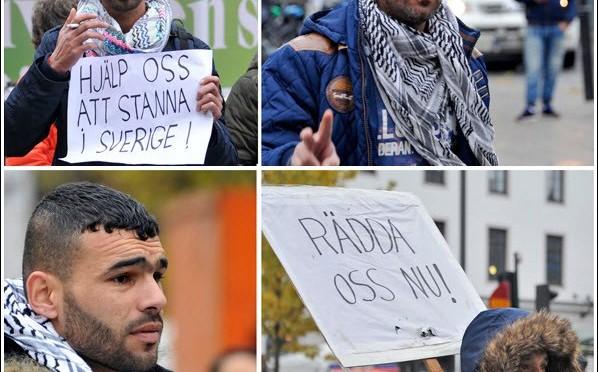 Bambini con la barba manifestano – FOTO