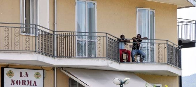 Disordini in hotel tra profughi