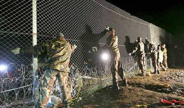 """Pronta barriera a confine Croazia, Ungheria: """"Difendiamo anche voi"""""""