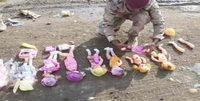ISIS: BAMBOLINE BOMBA PER BAMBINI 'INFEDELI'