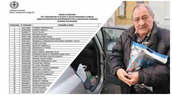 Malato di 72 anni vive in auto, case popolari agli immigrati – LEGGI GRADUATORIA