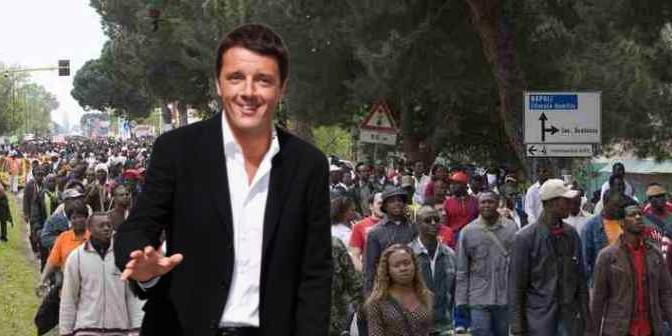 Colonia, arrivano i rinforzi: Renzi scarica 200 africani a Lampedusa