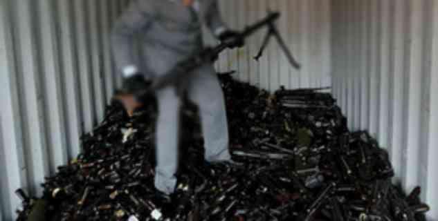 *Deposito di armi trovato in centro profughi*