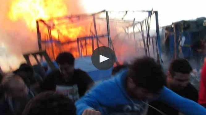 Calais: ultimatum ai clandestini