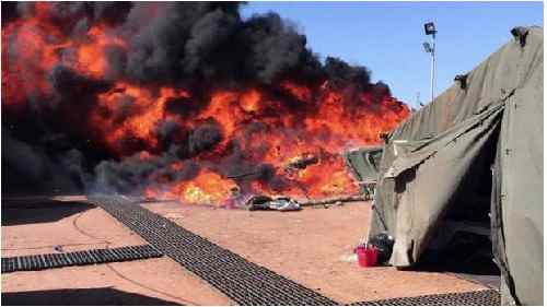 Disordini islamici a Cipro: profughi incendiano base GB