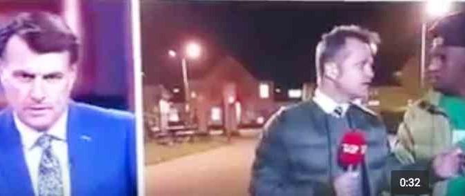 Giornalista parla di integrazione: minacciato da immigrato in diretta – VIDEO