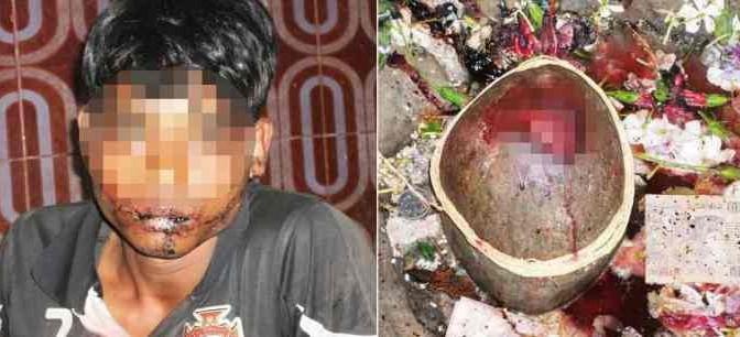 Indiano si taglia lingua per offrirla alla dea: morto dissanguato