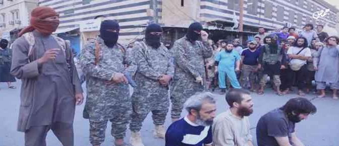 ISIS 'giustizia' tre prigionieri – VIDEO CHOC