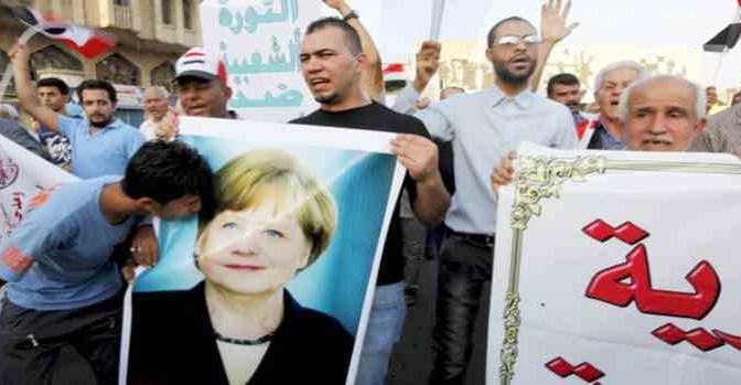 Parla Merkel: sottotitoli in arabo per i suoi migranti