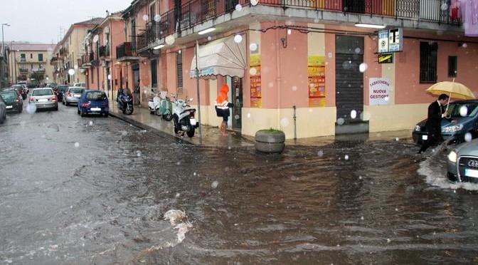 Messina: l'acqua è arrivata, dal cielo