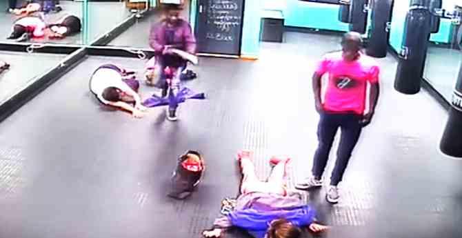Terribile rapina in centro benessere – Video